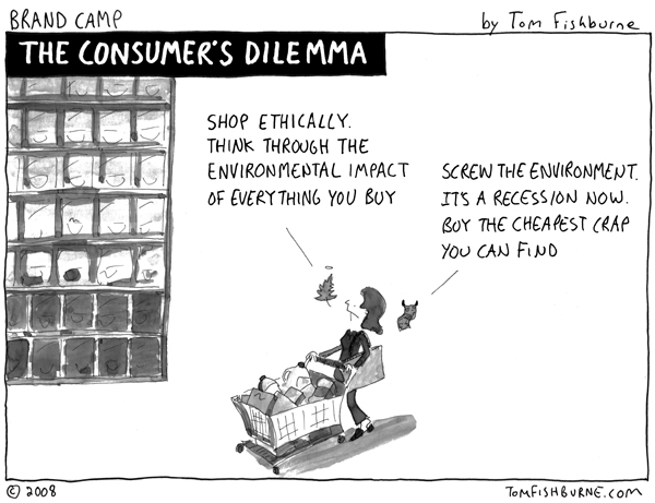 Consumers dilemma