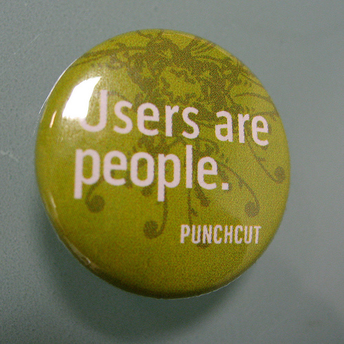 Users are people