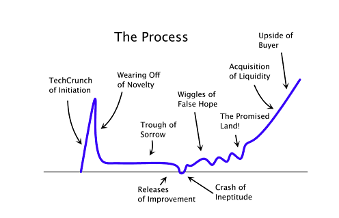 Startup Hype Cycle