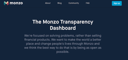 Monzo-transparency